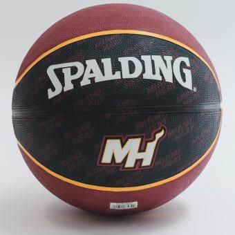 Spalding NBA Team Series MIAMI HEAT (แถมฟรี สูบลม Spalding มูลค่า150.-)