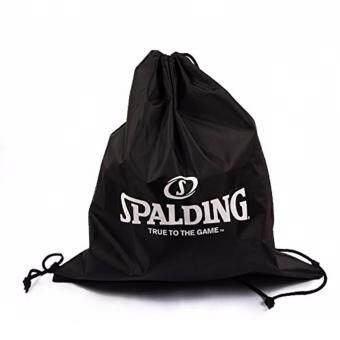 กระเป๋าถุงผ้า Spalding แบบสะพาย (New) สีดำ ใส่ลูกบาส#6