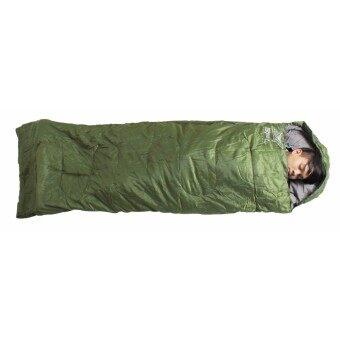 ราคา SPORTLAND ถุงนอน ใช้งานได้ 4 แบบ Sleeping Bag 4in1 Poly 190T 75x230 cm. 150g. รุ่น FRS-204 (มี 3สี)