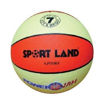 ราคา SPORTLAND บาสเก็ตบอล ยาง Basketball RB sp5005 (5007) mc