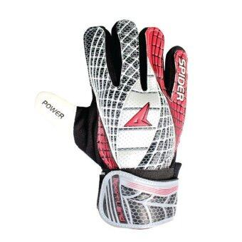 SPORTLAND Spider Goal Keeper Gloves No.6 - Black/Red