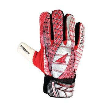 SPORTLAND Spider Goal Keeper Gloves No.7 - Red/Silver