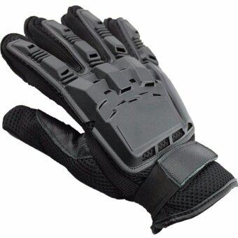 ซื้อ/ขาย ถุงมือ ฟิตเนส ยกน้ำหนัก เทรนนิ่ง ถุงมือ ฟิตเนส ยกน้ำหนัก เทรนนิ่ง การต่อสู้ถุงมือSports Weight Lifting driving glove Fitness Gloves SIZE:XL - Black