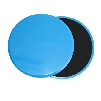 Sunshop 2pcs Exercise Sliding Gliding Discs Fitness Core Sliders Sports Workout Equipment (Round) - intl