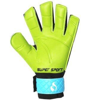 SUPER SPORT ถุงมือโกล์ว ฟุตบอล Goal keeper Football Glove Zamba Fingersave - 2