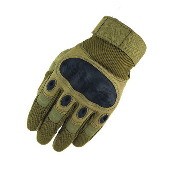 Tactical Gloves Tactical Army Airsolf Shoot Motorcycle MilitaryFull Finger Protective Gloves Men Brown