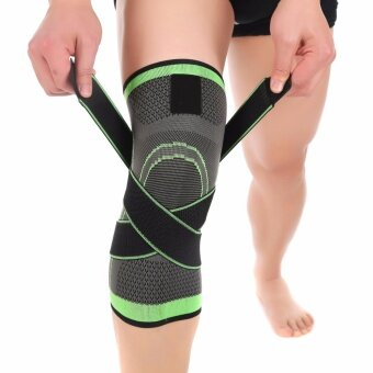 Tape 1 Pcs 3d Pressurized Fitness Running Cycling Knee Support Braces Elastic Nylon Sport Compression Pad Sleeve For Basketball Size L