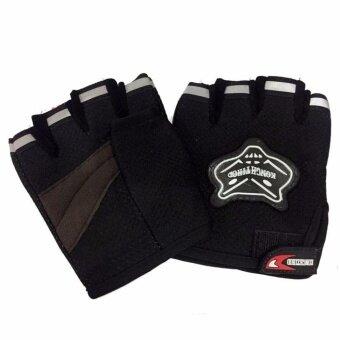Telecorsa KONGHTIHOD ถุงมือขับมอเตอร์ไซค์ข้อสั้น รุ่น GloveS105E
