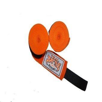 ซื้อ/ขาย Thai Battle ผ้าพันมือ (สีส้ม)