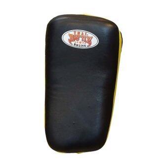 ซื้อ/ขาย Thai Battle, เป้าเตะโค้ง, Curved Kicking Pad (ดำ-เหลือง)