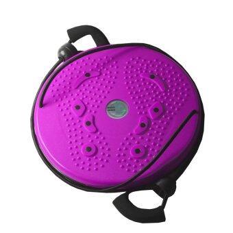 ราคา จานทวิส จานหมุนเอว แบบมีเชือก (สีชมพู) Twist Disc / Twist Plate / Twister