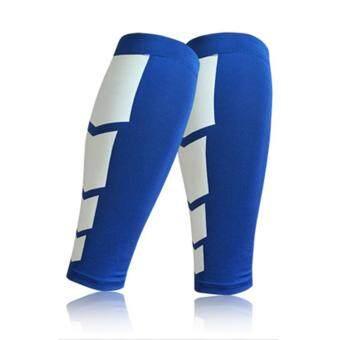 ขาน่องขาค้ำ UINNกีฬารองรับแขนเสื้อยืดแบบฝึกหัดสำหรับบุรุษอัดสีน้ำเงิน M