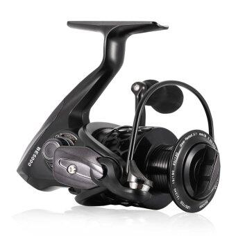 Ultra Smooth 12+1BB Bearing Fishing Reel Honeycomb Design CNCMachined Aluminum Spool 3000 - intl