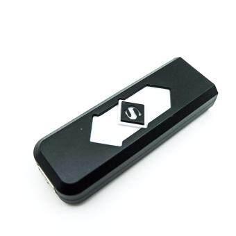 ไฟแช็ค ที่จุดบุหรี่ไฟฟ้าUSB (สีดำ) (image 0)