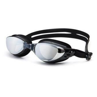 ประเทศไทย แว่นตาว่ายน้ำกันยูวี UV กันฝ้า เลนส์เคลือบปรอท(YUKE)