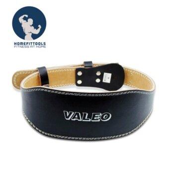 VALEO เข็มขัดยกน้ำหนักหนัง รุ่น Leather Belt สำหรับเวทเทรนนิ่ง Size- L