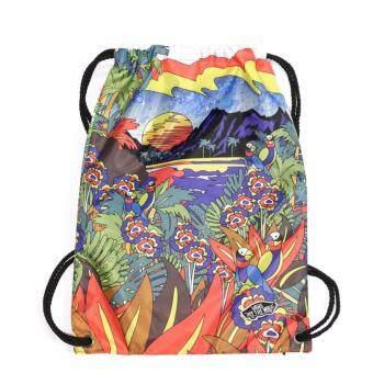 Vans กระเป๋า แวน Gymbag Benched Novelty VN0001CYM00 PuntaBella(550)