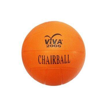 ซื้อ/ขาย VIVA แชร์บอลยางสีพื้น เบอร์ 4 รุ่น 2006 - สีส้ม