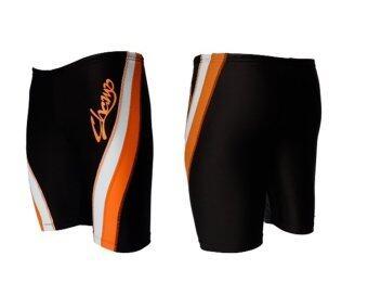 WANAKA กางเกงว่ายน้ำ CHM452 (Black/Orange) - 3