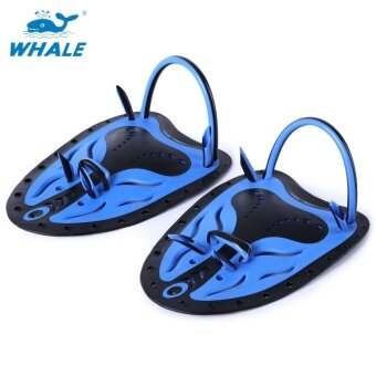 Harga Whale Paired Men Women Adjustable Swimming Hand Paddles FinsFlippers Webbed Training Diving Gloves - intl