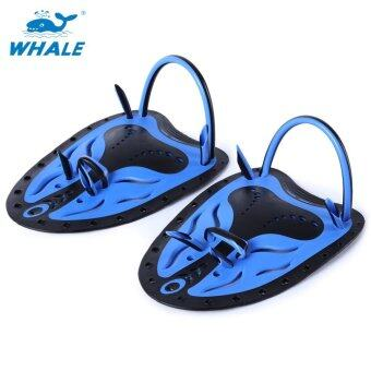 Whale Paired Unisex Swimming Adjustable Paddles Fins Webbed Training Pool Diving Neoprene Hand Gloves