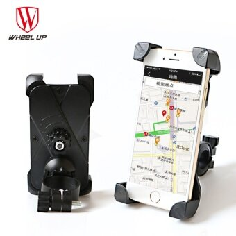 WHEEL UP Bicycle Bike Bag Phone Holder Handlebar Clip Stand MountBracket for Cellphone GPS Iphone Bags - intl