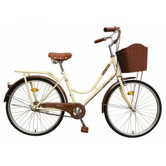 WINN De'sire จักรยานแม่บ้านวินเทจ ล้อ24 (สีครีม)