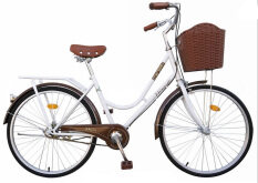 """WINN De'sire จักรยานแม่บ้านวินเทจ ล้อ26"""" (สีขาว)"""