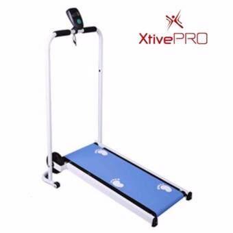XtivePro Mini Treadmill Blue ลู่วิ่ง ลู่เดิน ระบบแรงโน้มถ่วง สีฟ้า พร้อมจอแสดงผล