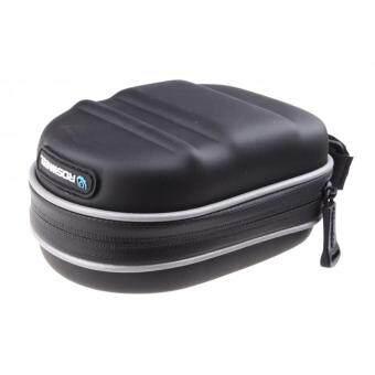 Yika Bike Seat Bag Bicycle Saddle Rear Pack Cycling PouchWaterproof Black