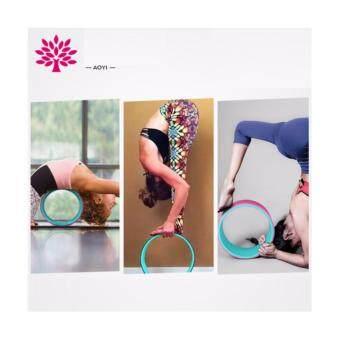 Yoga wheel, AOYI,เทรนใหม่มาแรงให้ความสนุกและง่ายมากขึ้นสำหรับการออกกำลังกายแบบโยคะช่วยsupportและยืดกล้ามเนื้อ ไม่ว่าจะเป็นไหล่ หลัง หน้าอก หรือสะโพก - 2