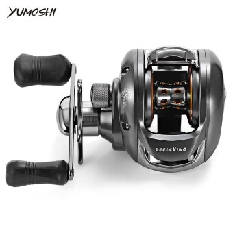 YUMOSHI 6.2:1 12 + 1 Ball Bearing Left Hand Bait FishingBaitcasting Reel - intl