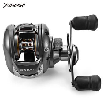 YUMOSHI 6.2:1 12 + 1 Ball Bearing RIGHT Hand Bait FishingBaitcasting Reel - intl