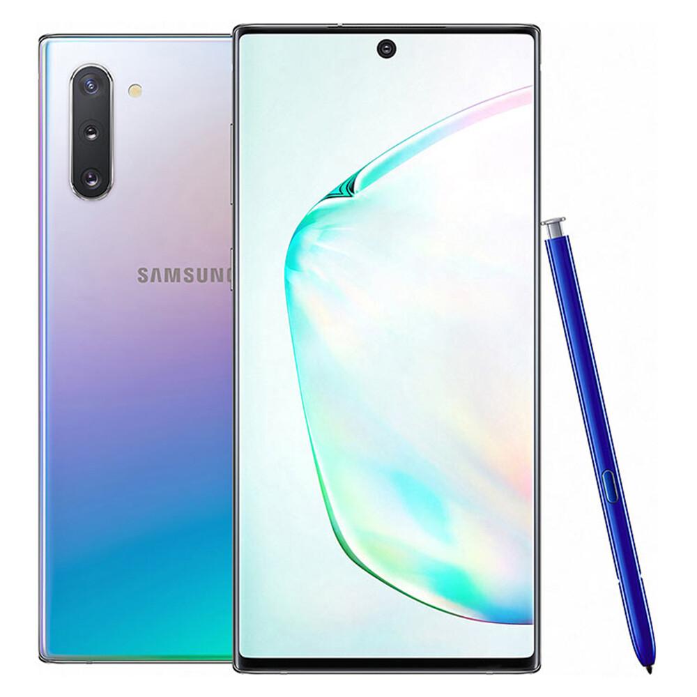 สำหรับ Samsung Galaxy Note10 N970U หมายเหตุ 10 N970F / DS 256GB ROM 8GB RAM โทรศัพท์มือถือ Octa Core 6.3