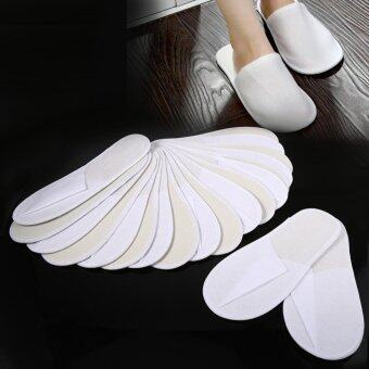 10 Pairs Disposable Slippers Travel Hotel Slippers - intl · >>>>>