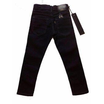 กางเกงยีนส์ขายาวสีดำ ไซด์ 12 - 2