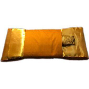 ผ้าไตร - ไตรจีวร เนื้อผ้าโทเรคุณภาพดี (สีพระราชนิยม) ขนาด 1.90 เมตร