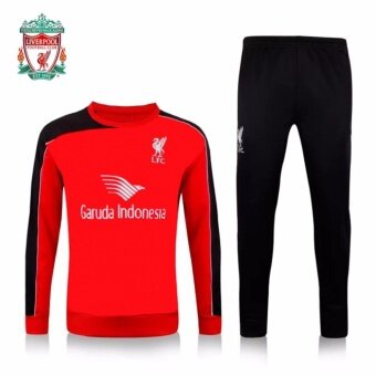 Harga 2017--2018 Liverpool football team sports training soccer jersey. - intl