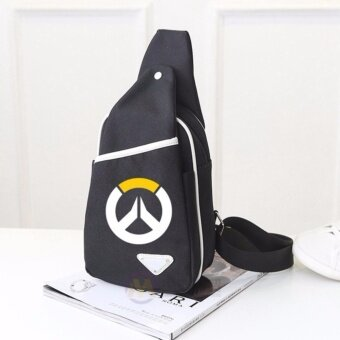 Harga 2017 Overwatch Bag Shoulder Canvas School Bags For TeenagersCrossbody Laptop bag - intl