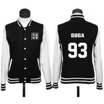 2017 Real Regular Fleece Sailor Moon Tracksuits Sweatshirt Bangtan\nBoys Kpop Bts Unisex Hoodie Jungkook Jimin Jin V Suga New - intl