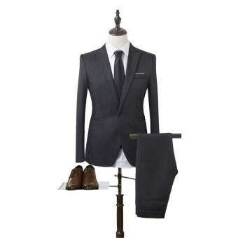 2PCS (Jacket and trousers)Men's suit, business suit, suit - intl