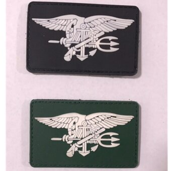 (2pcs/lot) tactical rubber velcro magic stick magic armband badge -intl