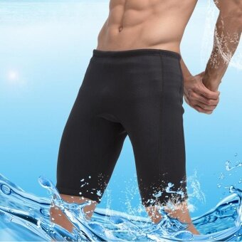 3MM Mens Rash Guard Shorts keep warm diving pants for Scuba Diving Snorkeling and Water Sports - intl
