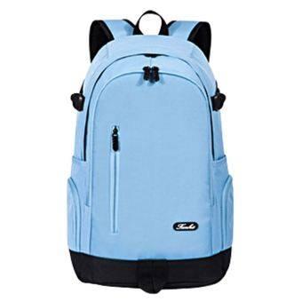 ชายโรงเรียนมัธยมกระเป๋านักเรียนกระเป๋าสะพายไหล่ (แสงสีฟ้า 50 cm * 32 cm * 18 cm)