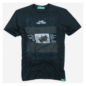 7th Street T-Shirt แท้ 100% เสื้อยืดแนวสตรีท - สีกรมท่า