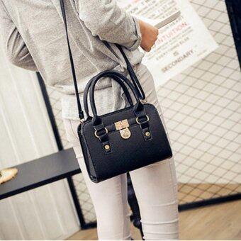 A billion กระเป๋า กระเป๋าสะพาย กระเป๋าสะพายผู้หญิง(black)No.10019