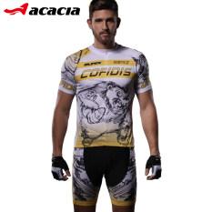 Acacia ชายจักรยานขี่แผ่นซิลิโคนขี่เสื้อผ้า (หมีดำรุ่นชุด)