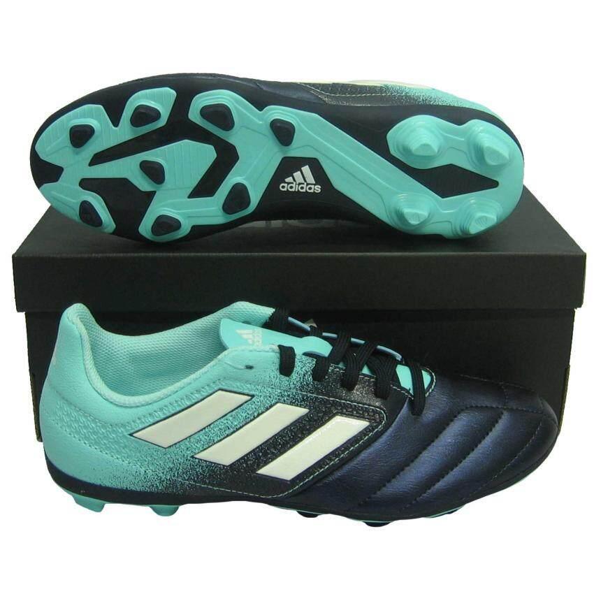 รองเท้ากีฬา รองเท้าสตั๊ดเด็ก adidas 77097 ACE 17.4 FxG J กรม