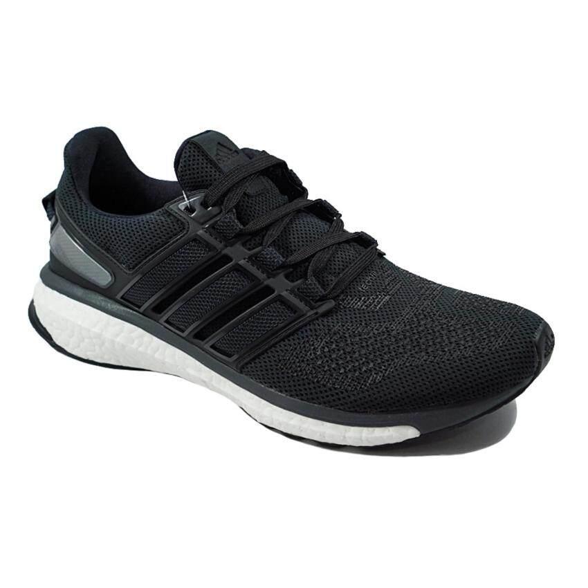 check ราคา ADIDAS รองเท้าวิ่ง Energy Boost 3 m รุ่น AQ1865 สีดำ (Black)