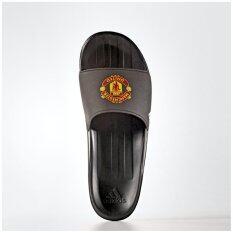 Adidas Manchester United FC Football Slides , black